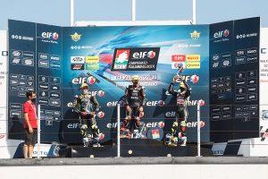 Vasilis Panteleakis 2nd Race (pre-moto3) in Misano