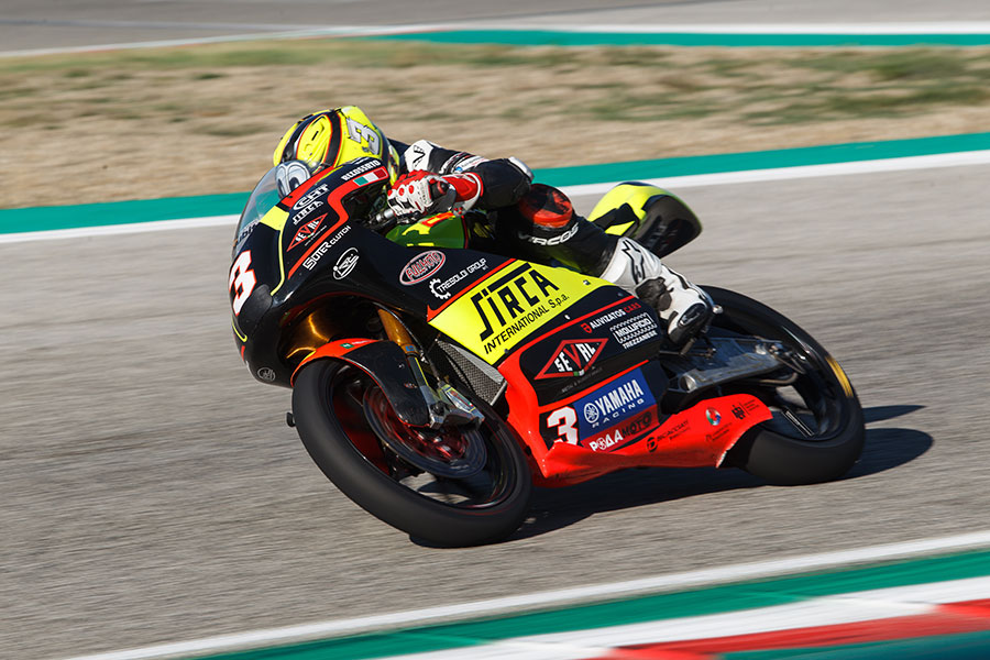 Vasilis Panteleakis 3rd Race (pre-moto3) in Imola